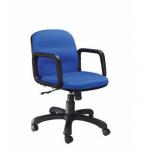 Zeta BS 168 Low Back Chair, Mechanism Center Tilt, Series Executive