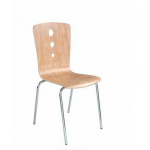 Zeta BS 720 Cafeteria Chair, Series Cafe