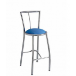 Zeta BS 735 Bar Stool with Cushioned Seat , Series Cafe