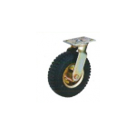 Race 150Kg Pneumatic Rubber Tyre Wheel With Double Ball Bearing-MLT-113-200-PT-B