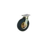 Race 200Kg Pneumatic Rubber Tyre Wheel With Double Ball Bearing-MLT-113-250-FX-B
