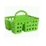 Amsse Caddy Basket - Green