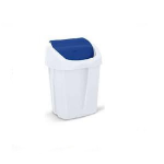 Amsse Swing waste bin 15L - Blue