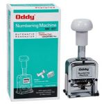Oddy Auto Numbering Machine 6 Digits With JAPANESE FONT STYLE & Spare Parts- NM-607-1 Item