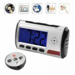 B S PANTHER SC-081 Spy Digital Table Clock Camera, 2Mp