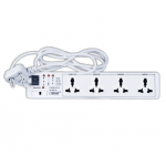Orpat OCPL-5927 Power Link, Length 1.5m, No. of Pin 3, No. of Ways 4, Current 6A