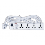 Orpat OCPL-5967 Power Link, Length 4m, No. of Pin 3, No. of Ways 4, Current 6A