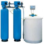 WTCC Water Softener System Amc without Pats, Capacity 8000LPH, Size 24 x 72inch, Resin Quantity 720l
