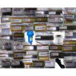 Becker 90132700008 Carbon Vane Set for Vacuum Pump, Vanes 8, Dimensions 55 x 27 x 3mm, Minimum Height 18mm