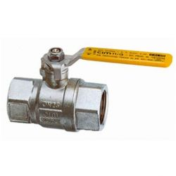Cimberio-Italy CIM 11G Gas Ball Valves, British Gas Approved, 10mm Size, 20bar Max. Operating Pressure, -20 - 180deg C Max. Operating Temperature
