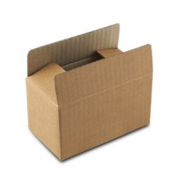Boxify Corrugated Paper Storage, Size 16 x 16 x 16inch, Color Brown