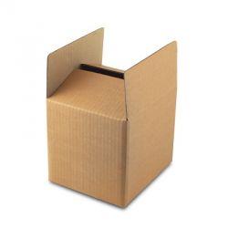 Boxify Corrugated Paper Storage, Size 10 x 10 x 10inch, Color Brown