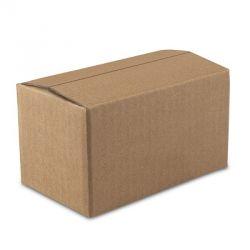 Boxify Corrugated Paper Storage, Size 4 x 4 x 4inch, Color Brown