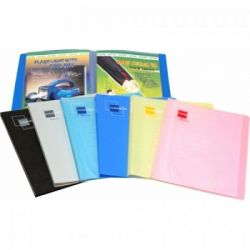 WorldOne CB502F Clear Book - 30, Size F/C