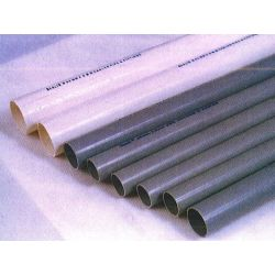 Berlia Rigid PVC Electrical Conduit Pipe, Size 50mm, Wall Thickness 2.5mm, Length 60m