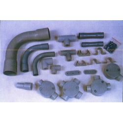 Berlia Rigid PVC Electrical Conduit Pipe Socket, Size 38mm