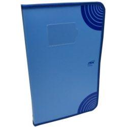 WorldOne DB515F Zipper Display Book - 20 Pockets, Size F/C