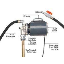 Groz OPM-220 Electric Oil Pump, Pressure 65PSI