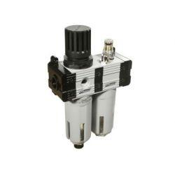 Groz FRCLM136134-S/G Filter-Regulator & Lubricator, Pressure 145PSI