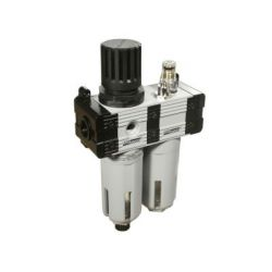 Groz FRCLM139134-S/G Filter-Regulator & Lubricator, Pressure 145PSI