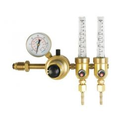 Messer MS77052140 Heavy Duty Cylinder Pressure Regulators with Outlet Single Flow-Meter, Gas Type Nitrogen