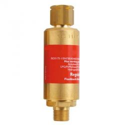 "Messer MS0463832 Flashback Arrestor, Length 107mm, Weight 0.375kg, Connection Type G 3/8"" LH"