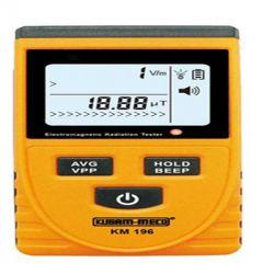 Kusam Meco KM 196 Digital Electromagnetic Radiation Tester, Range 0.01 - 19.99mT