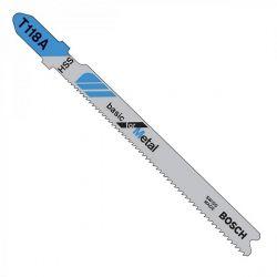 Bosch T118A T-Shank Jigsaw Blade, Part Number 2608631964