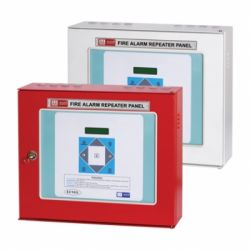 MOP RP16ZFP Fire Alarm Repeater Panel, Color Red/White