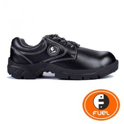 Fuel 632-8301 Arsenal Low Cut Laced Up Steel Toe Safety Shoes, Color Black