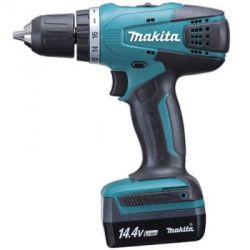 Makita DF030DWE Cordless Driver Drill, Torque 24/14Nm, Capacity 10mm, Speed 0-350/1300rpm, Weight 0.89kg, Voltage 10.8V