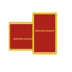 Asian Grooved Board, Size 450 x 600mm, Red Color