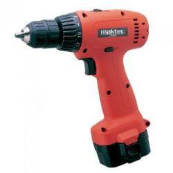 Maktec MT062SK2 Cordless Driver Drill, Weight 1.3kg, Speed 0-350/1000rpm