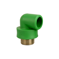 Male Threaded Elbow   pipe dia 16