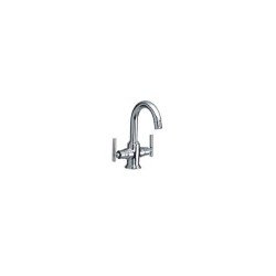Central Hole Basin Mixer with 450mm Long Connection Pipes