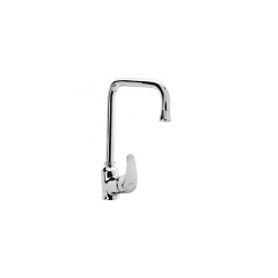 Single Lever Basin Mixer with 450mm Long Connection Pipes