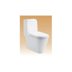 White Single Piece Closets - Sarah - 690x370x750 mm