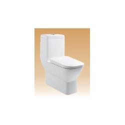 White Single Piece Closets - Saga - 700x360x740 mm