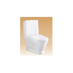 White Single Piece Closets - Salvo - 700x380x860 mm