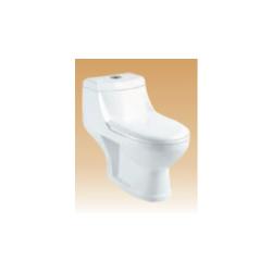 White Single Piece Closets - Spana - 690x370x640 mm