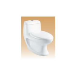 White Single Piece Closets - Siena - 700x360x700 mm