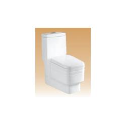 White Single Piece Closets - Spirit - 675x370x790 mm