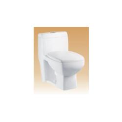White Single Piece Closets - Shell - 710x400x640 mm