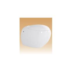 White Wall Hung Closets Series - Bristal - 590x410x390 mm