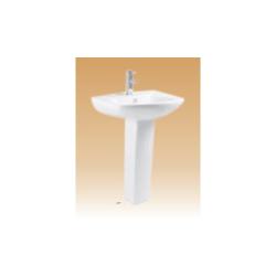 White Pedestal Basin Series - Macello - 560x465x840 mm