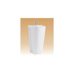 White Pedestal Basin Series - Marizo - 540x460x840 mm