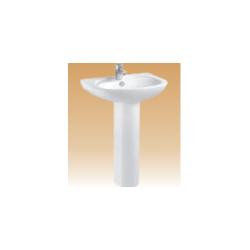White Pedestal Basin Series - Musso - 550x420x800 mm