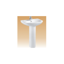 Ivory Pedestal Basin Series - Musso - 550x420x800 mm