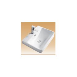 White Wall-Hung Basin - Stylus - 605x465x200 mm