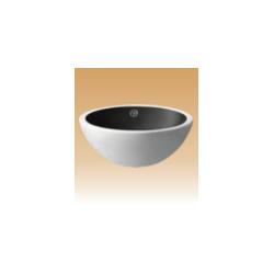 White/Black Art Basin Colored - Cherry - 440x440x175 mm